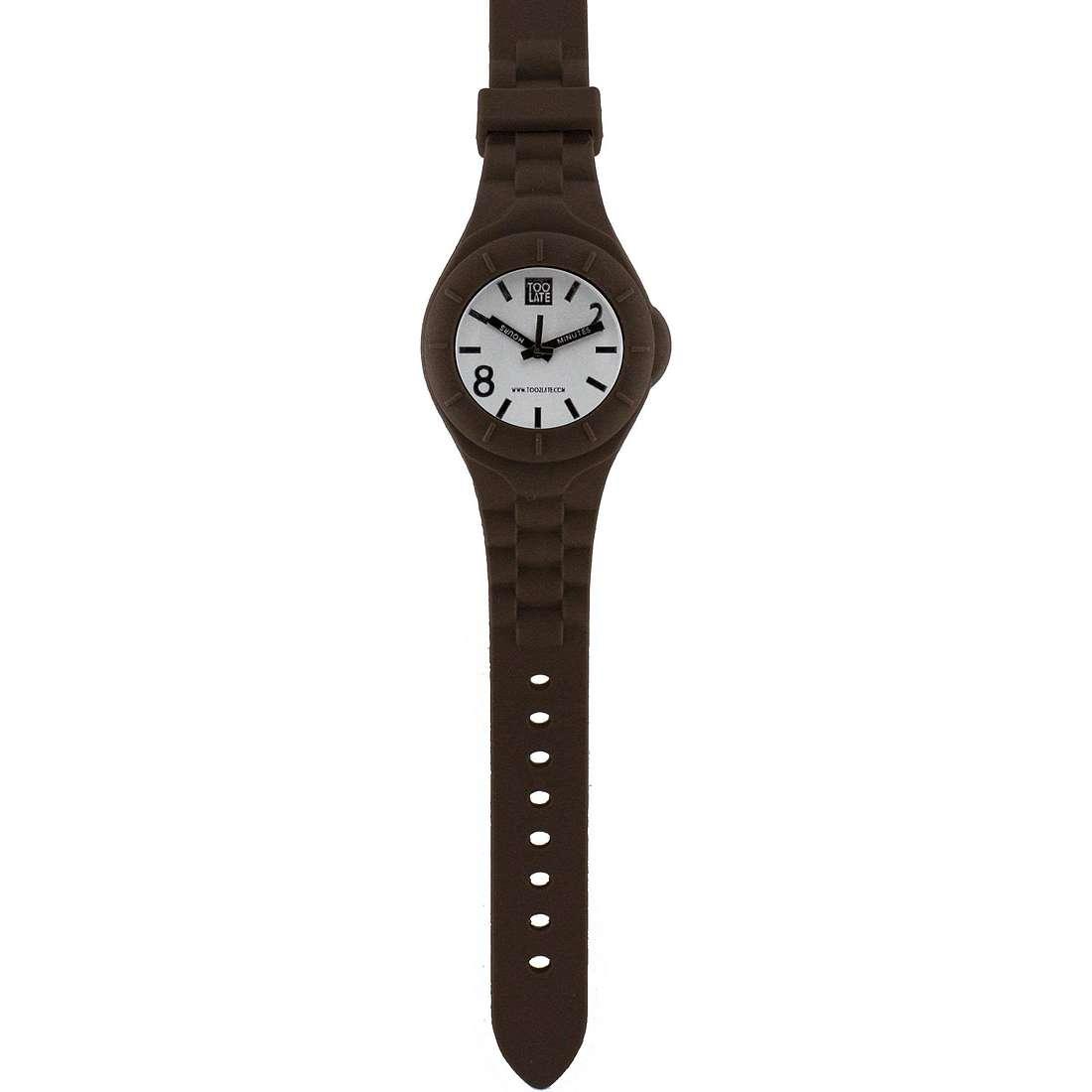 orologio solo tempo unisex Too late Mash-up M006B