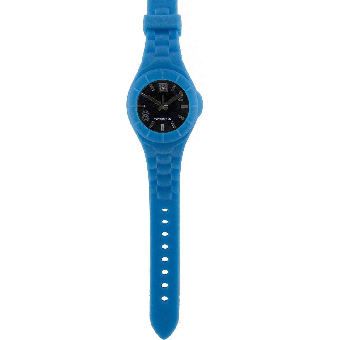 orologio solo tempo unisex Too late Mash-up M012N