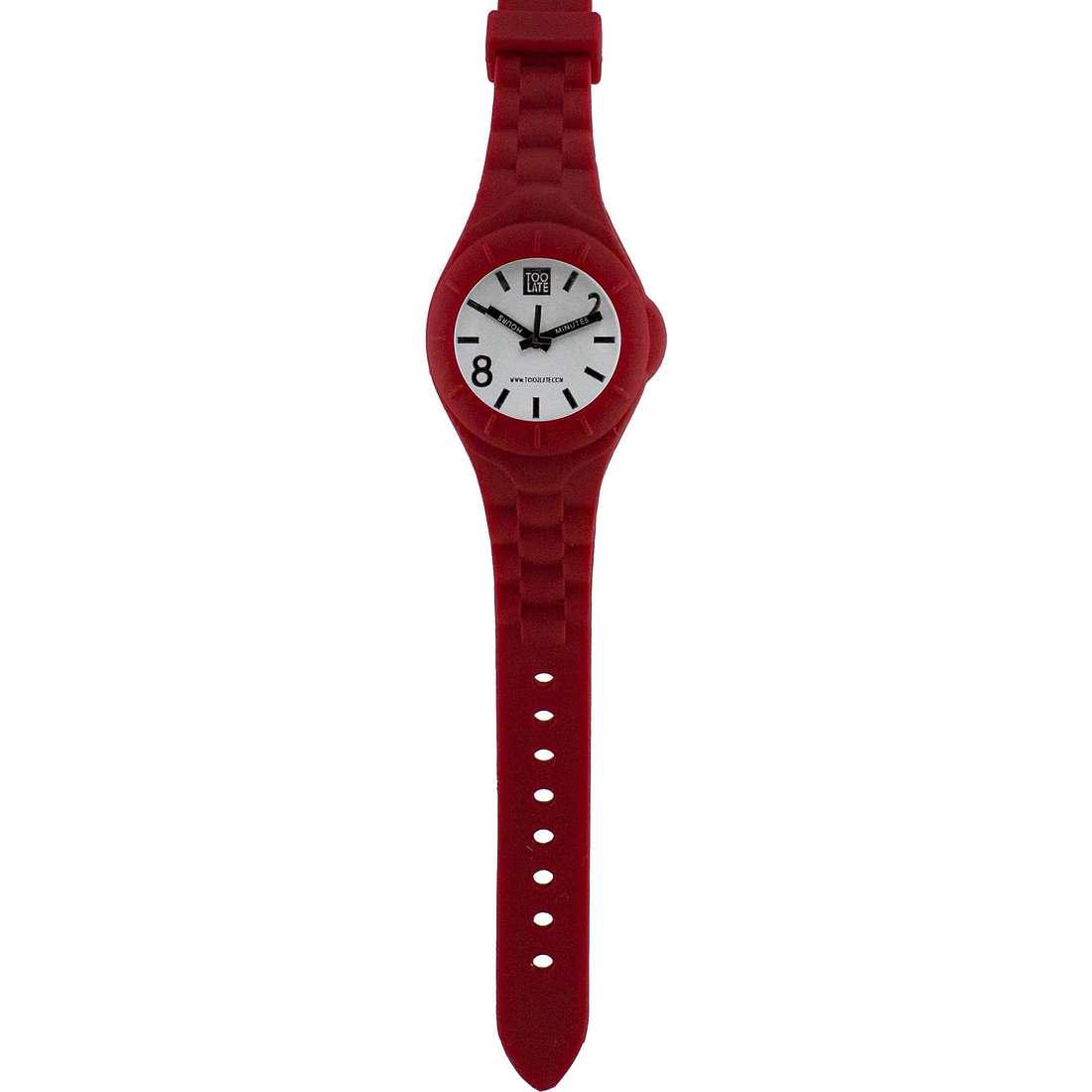 orologio solo tempo unisex Too late Mash-up M014B