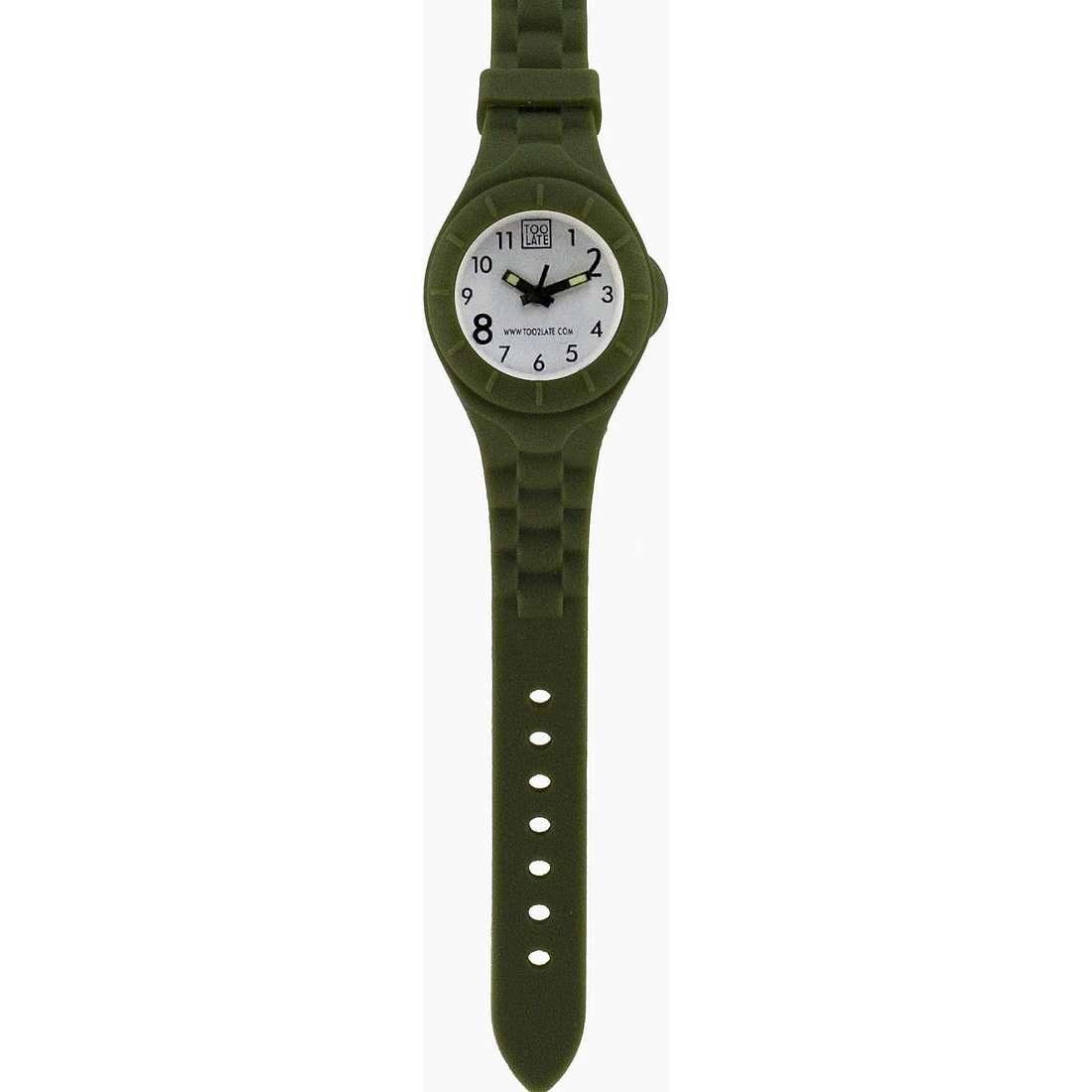 orologio solo tempo unisex Too late Mash-up MS006B