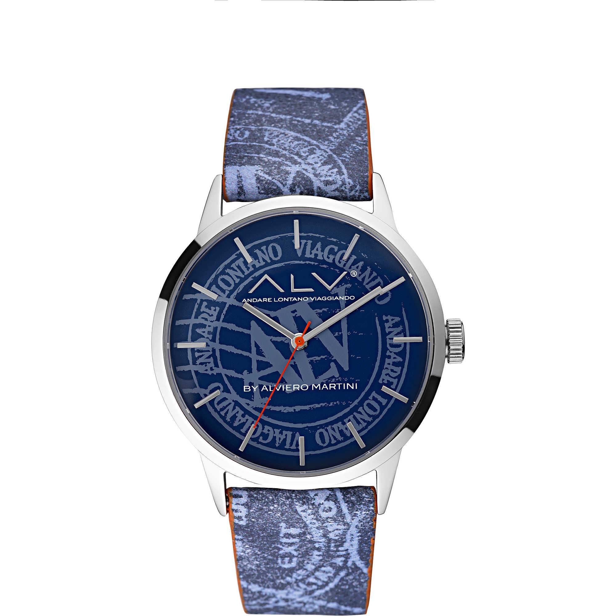 alta moda codici promozionali dal costo ragionevole orologio solo tempo uomo ALV Alviero Martini ALV0010