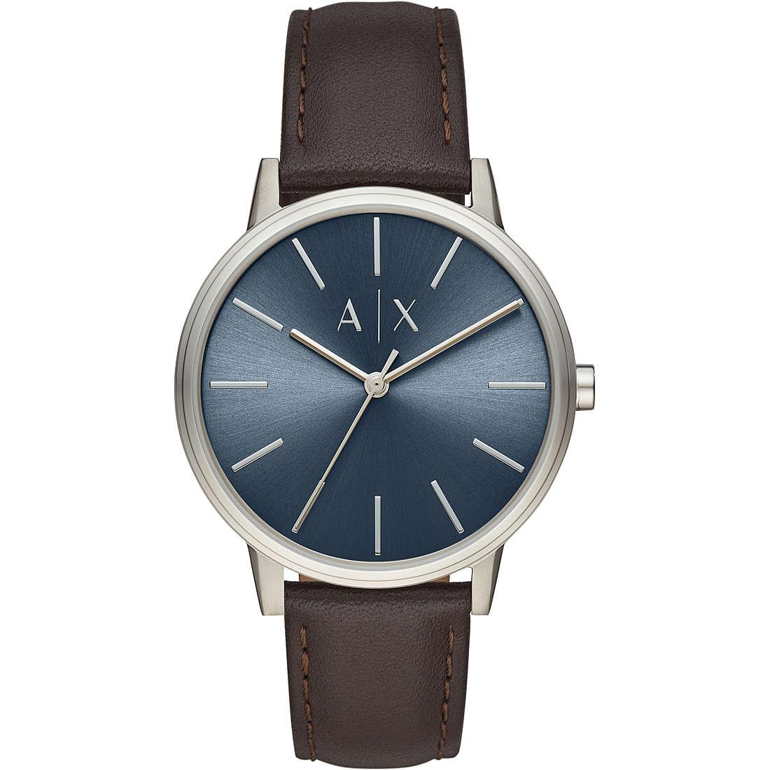 29d8f6fc928129 orologio solo tempo uomo Armani Exchange Cayde AX2704 solo tempo ...