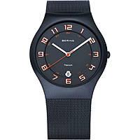 orologio solo tempo uomo Bering Classic 11937-393