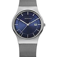 orologio solo tempo uomo Bering Classic 11938-003