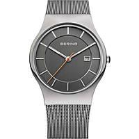orologio solo tempo uomo Bering Classic 11938-007