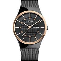 orologio solo tempo uomo Bering Classic 12939-166