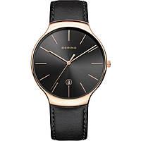 orologio solo tempo uomo Bering Classic 13338-462