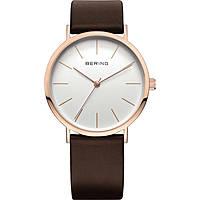 orologio solo tempo uomo Bering Classic 13436-564