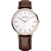 orologio solo tempo uomo Bering Classic 13738-564