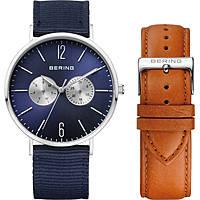orologio solo tempo uomo Bering Classic 14240-507