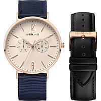 orologio solo tempo uomo Bering Classic 14240-664