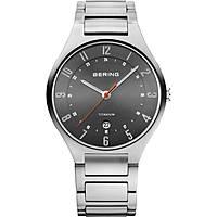 orologio solo tempo uomo Bering Titanium 11739-772
