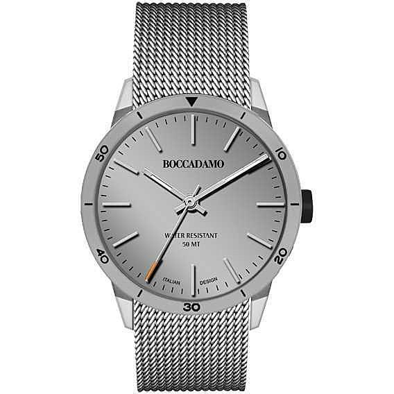 orologio solo tempo uomo Boccadamo Navy NV015