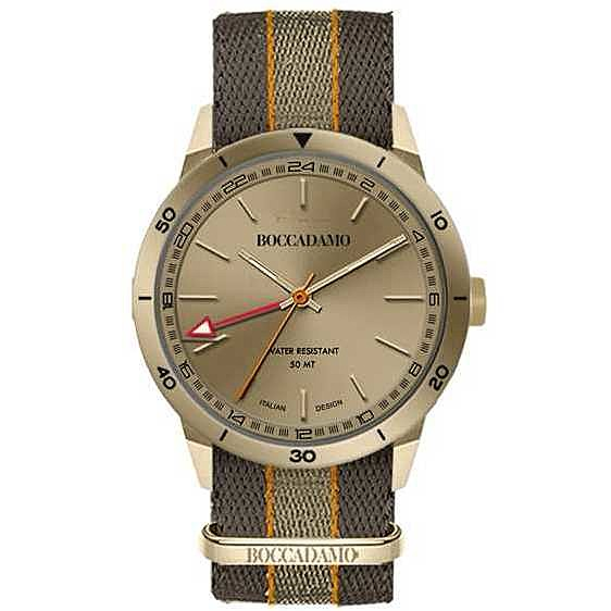 orologio solo tempo uomo Boccadamo Navy NV028