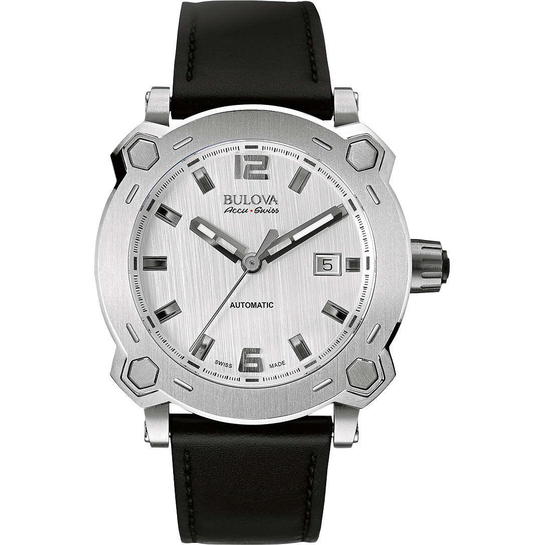 orologio solo tempo uomo Bulova Accu Swiss Percheron 63B191