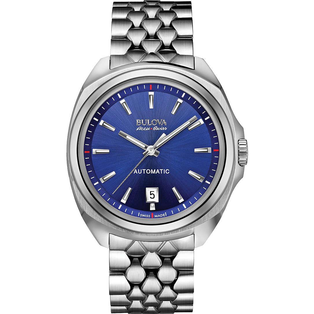 orologio solo tempo uomo Bulova Accu Swiss Telc 63B186