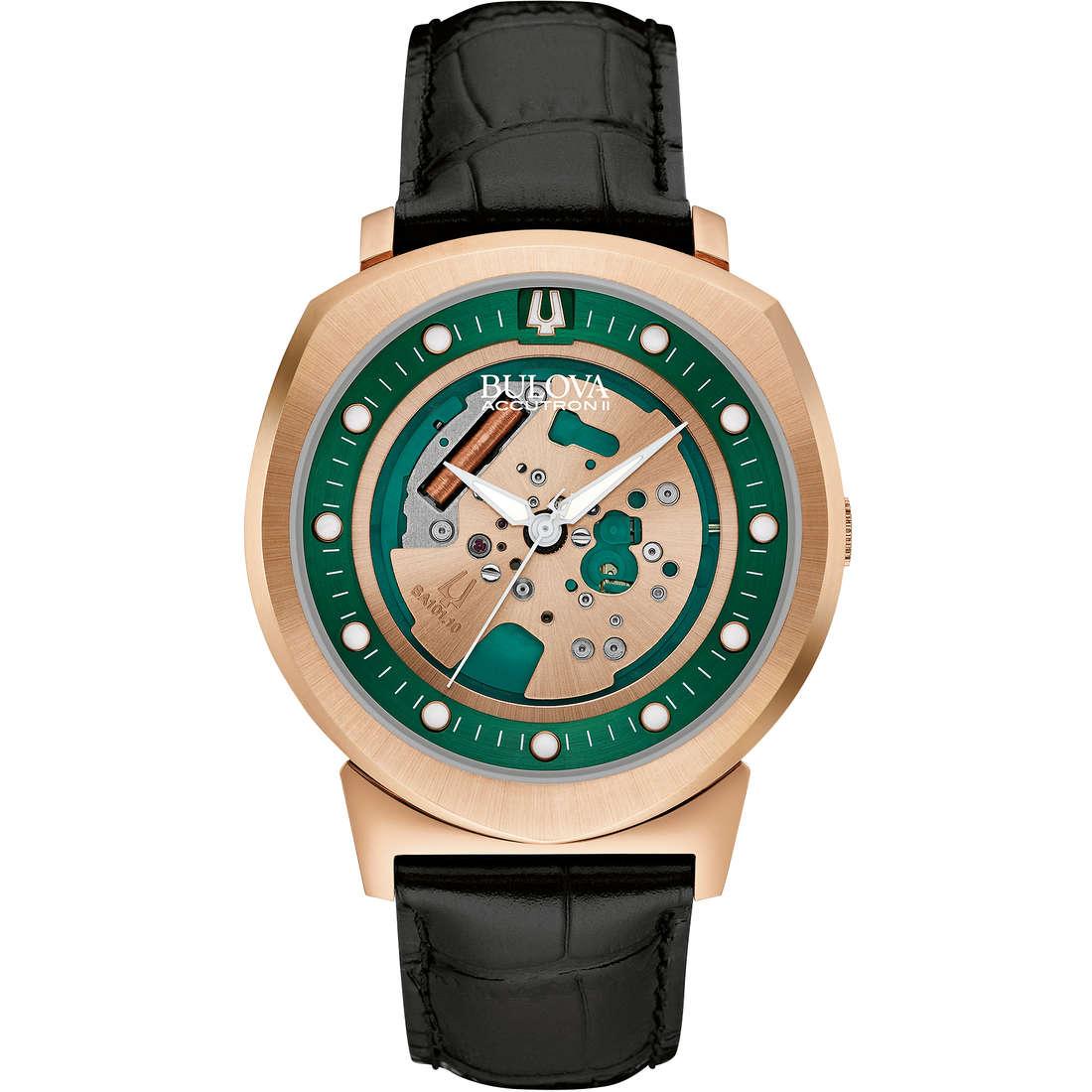orologio solo tempo uomo Bulova Accutron II Alpha 97A122
