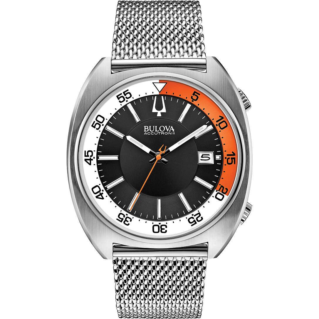 orologio solo tempo uomo Bulova Accutron II Snorkel 96B208