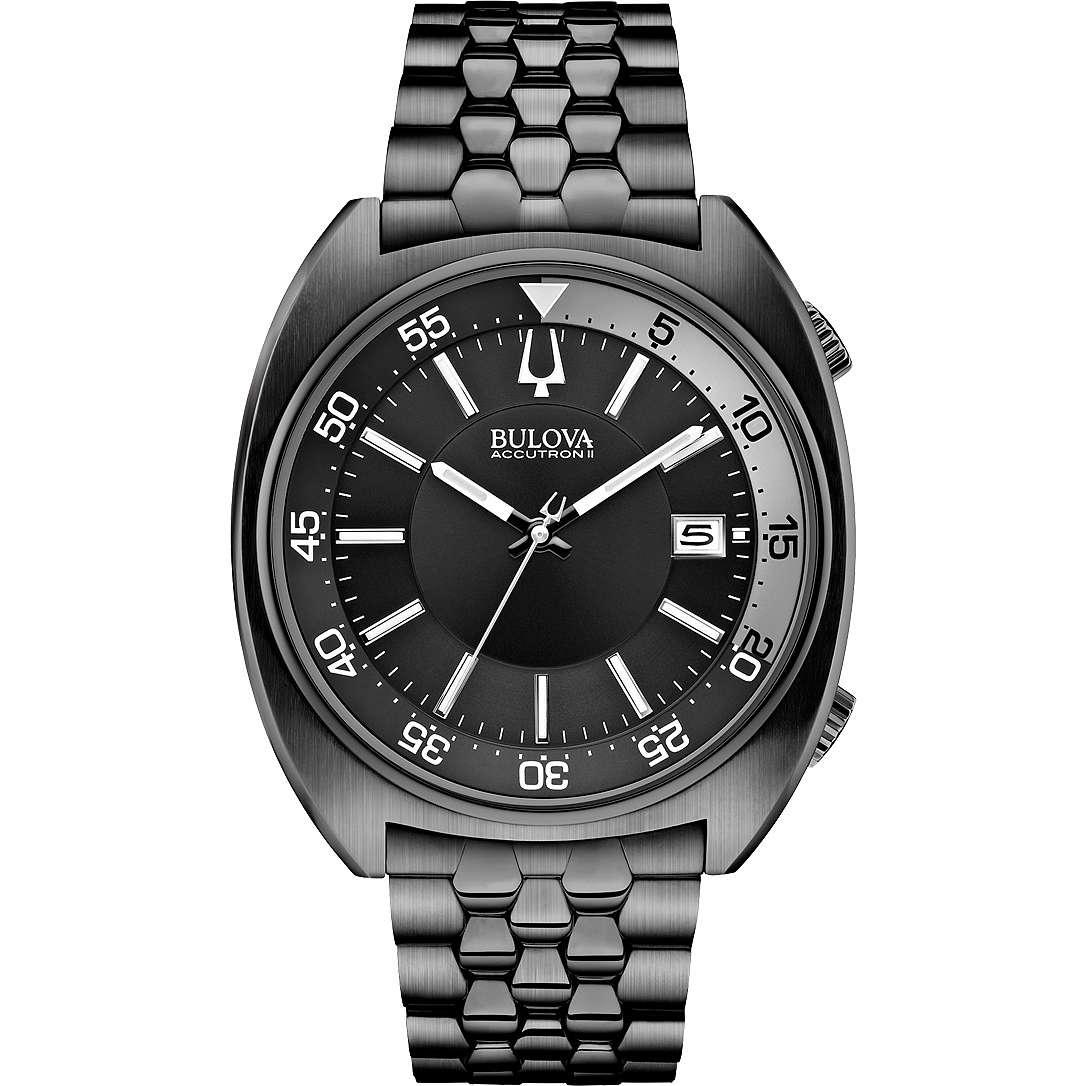 orologio solo tempo uomo Bulova Accutron II Snorkel 98B219