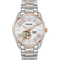 orologio solo tempo uomo Bulova Automatic Wilton 98A213