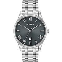 orologio solo tempo uomo Bulova Classic 96B261