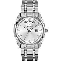 orologio solo tempo uomo Bulova Day Date 96C127