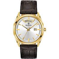 orologio solo tempo uomo Bulova Day Date 97C106