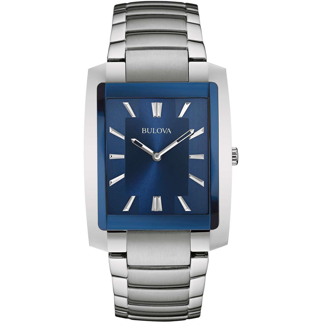 orologio solo tempo uomo Bulova Dress 96A169