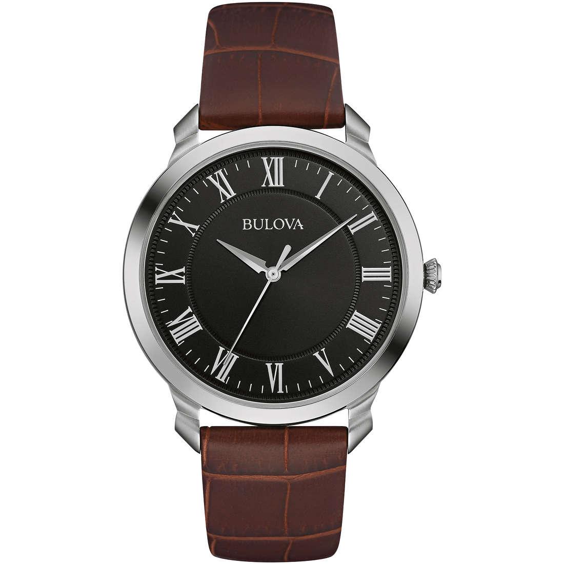 orologio solo tempo uomo Bulova Dress 96A184