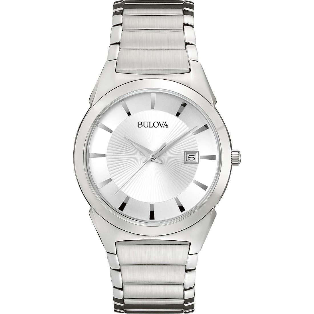 orologio solo tempo uomo Bulova Dress 96B015