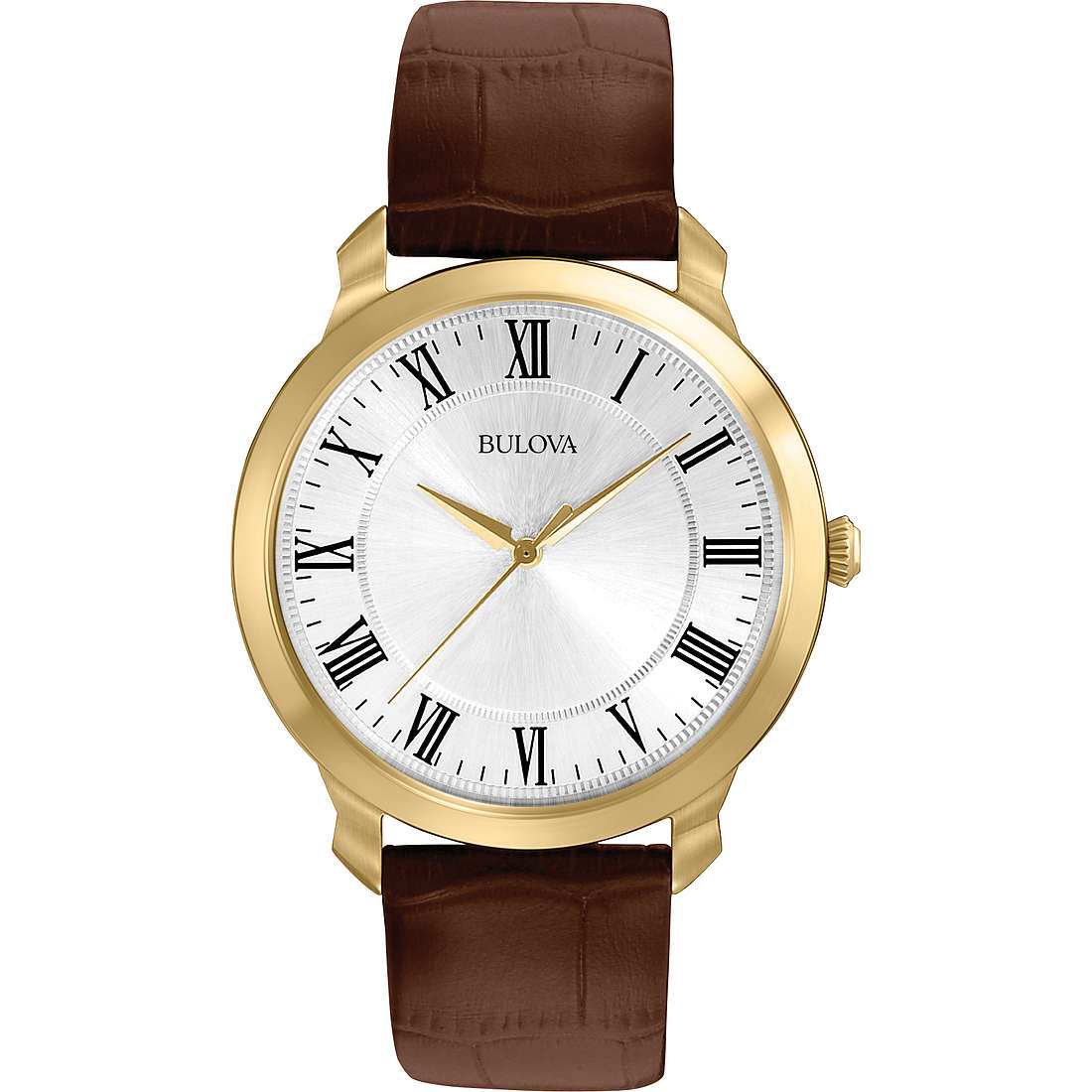 orologio solo tempo uomo Bulova Dress 97A107