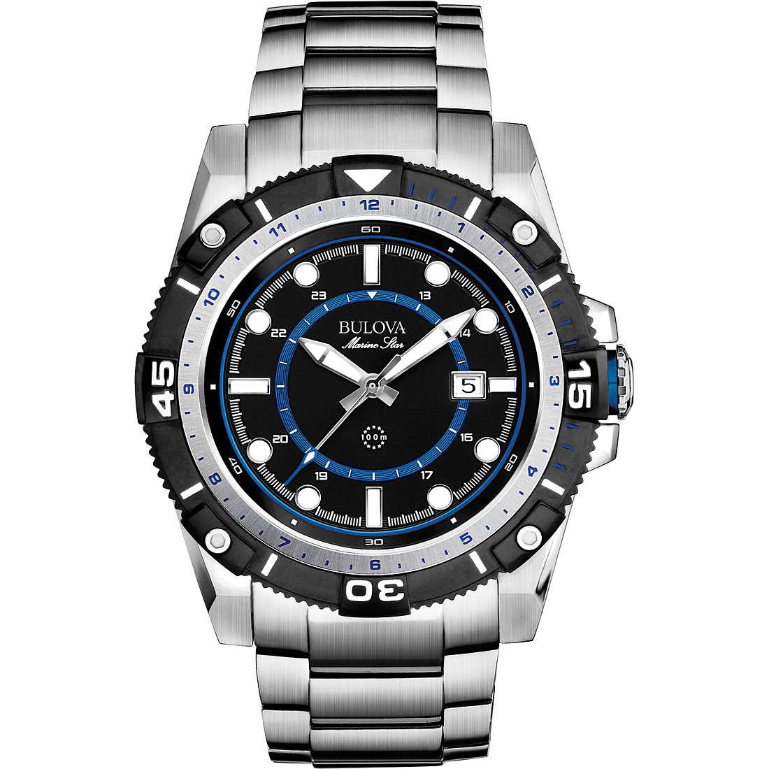 orologio solo tempo uomo Bulova Marine Star 98B177