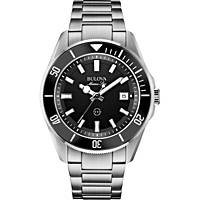 orologio solo tempo uomo Bulova Marine Star 98B203