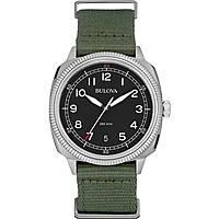 orologio solo tempo uomo Bulova Military Vintage 96B229