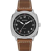 orologio solo tempo uomo Bulova Military Vintage 96B230