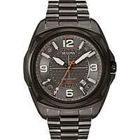 orologio solo tempo uomo Bulova Pilot 98B225