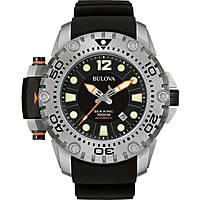 orologio solo tempo uomo Bulova Sea King 96B226