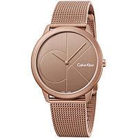 orologio solo tempo uomo Calvin Klein Minimal K3M11TFK