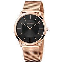 orologio solo tempo uomo Calvin Klein Minimal K3M2T621