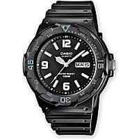 orologio solo tempo uomo Casio MRW-200H-1B2VEF