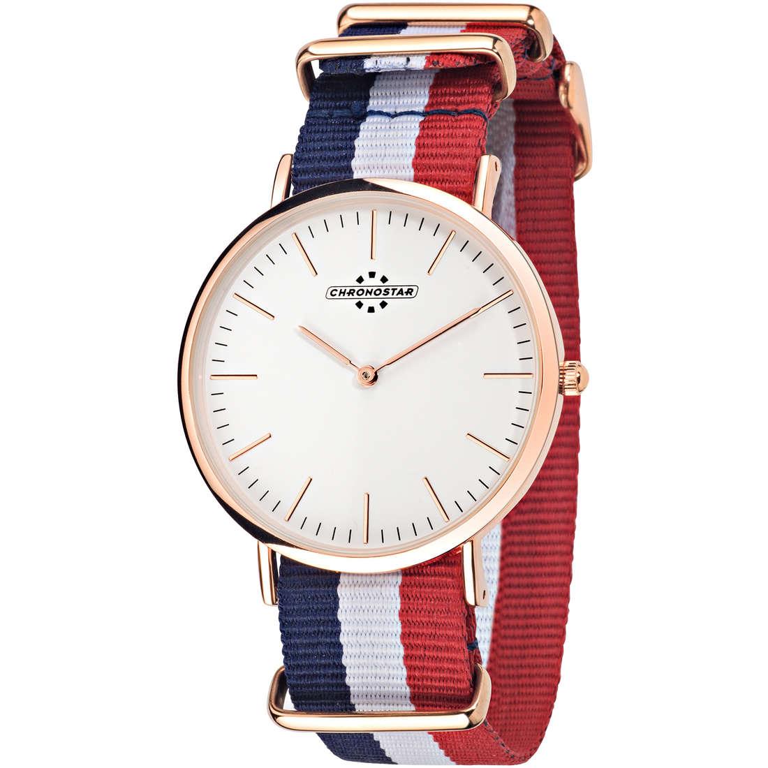 orologio solo tempo uomo Chronostar Preppy R3751252001