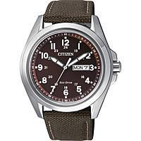orologio solo tempo uomo Citizen AW0050-40W