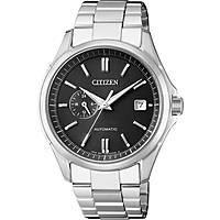 orologio solo tempo uomo Citizen Meccanico NP3021-54E
