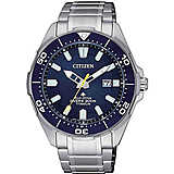 orologio solo tempo uomo Citizen Promaster BN0201-88L