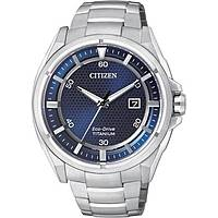 orologio solo tempo uomo Citizen Super Titanio AW1400-52M
