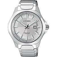 orologio solo tempo uomo Citizen Super Titanio AW1540-53A