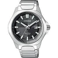 orologio solo tempo uomo Citizen Super Titanio AW1540-53E
