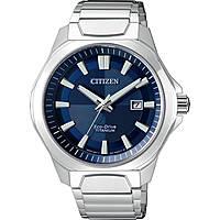 orologio solo tempo uomo Citizen Super Titanio AW1540-53L
