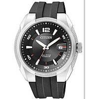 orologio solo tempo uomo Citizen Super Titanio BM6900-07E