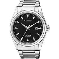 orologio solo tempo uomo Citizen Super Titanio BM7360-82E